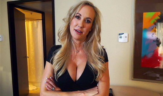 Mature mother did not refuse her stepson to shoot homemade porn video