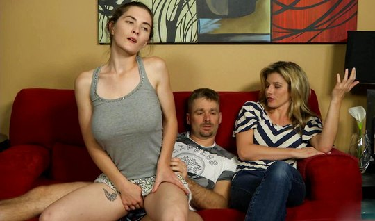 Adorable sister with big milkings seduced her sisters husband for sex and gets high