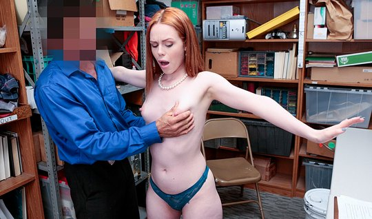 redhead girl in my office pays for stealing my body