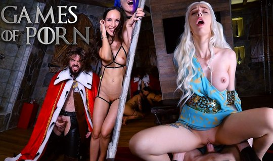 Lovers porn parody staged in the Royal box group Orgy