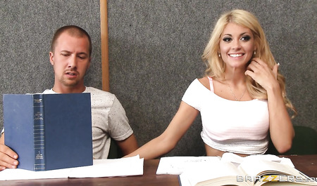 Beauty from brazzers fucked with her classmate after school